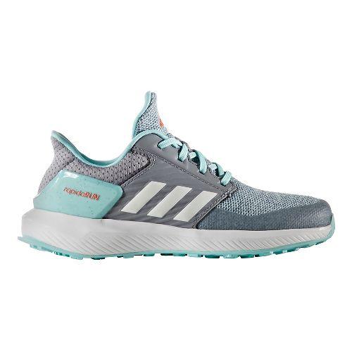 adidas RapidaRun Running Shoe - Grey/Aqua 11.5C