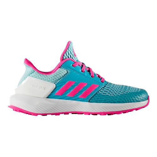 adidas RapidaRun Running Shoe - Energy Blue/Pink 4.5Y