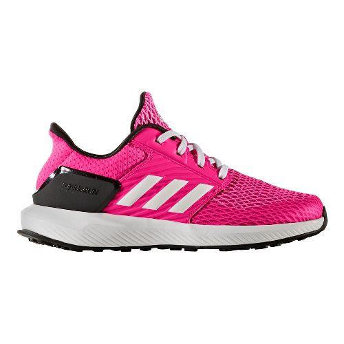 adidas RapidaRun Running Shoe - Shock Pink/White 5.5Y