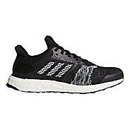 Mens adidas Ultra Boost ST Running Shoe - Black/White/Orange 11