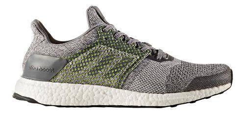Mens adidas Ultra Boost ST Running Shoe - Grey/Silver 9.5