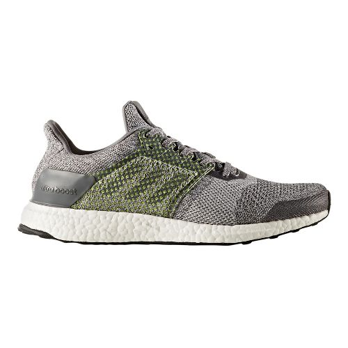 Mens adidas Ultra Boost ST Running Shoe - Grey/Silver 12.5