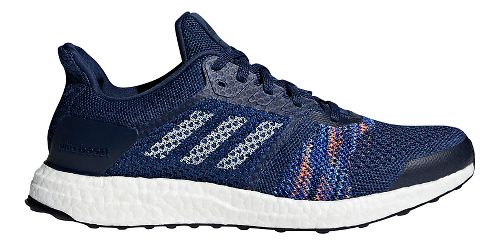 Mens adidas Ultra Boost ST Running Shoe - Indigo/Navy 10.5