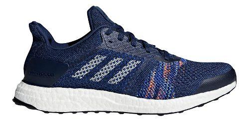Mens adidas Ultra Boost ST Running Shoe - Indigo/Navy 14