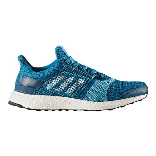Mens adidas Ultra Boost ST Running Shoe - Mystery Petrol 9.5