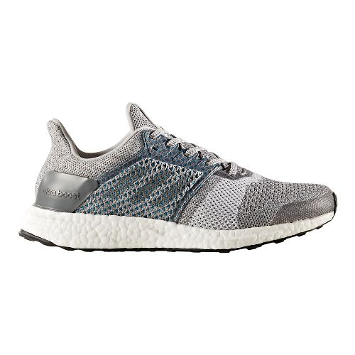 Womens adidas Ultra Boost ST Running Shoe - Grey/Silver 8.5