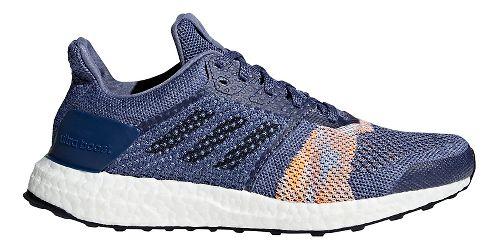 Womens adidas Ultra Boost ST Running Shoe - Indigo 9