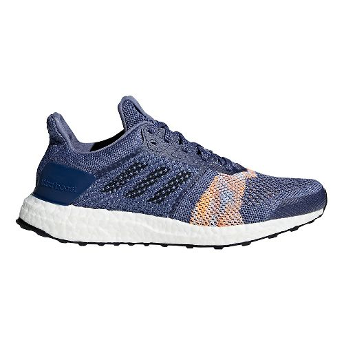 Womens adidas Ultra Boost ST Running Shoe - Indigo 10.5