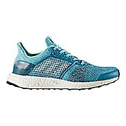 Womens adidas Ultra Boost ST Running Shoe - Aqua/Silver 10