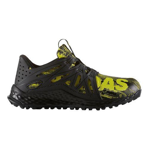 adidas Vigor Bounce C Running Shoe - Black/Shock Slime 3Y
