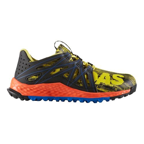 adidas Vigor Bounce C Running Shoe - Yellow/Black 3Y