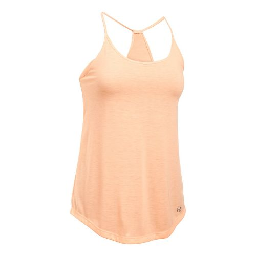 Womens Under Armour Threadborne Train Strap Sleeveless & Tank Tops Technical Tops - Playful ...