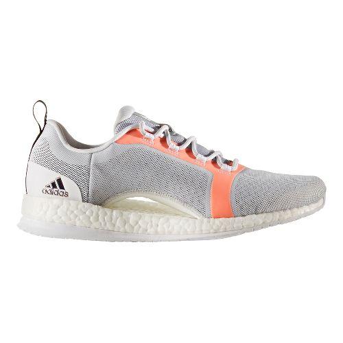 Womens adidas PureBoost X TR 2 Cross Training Shoe - Grey/Orange 9.5