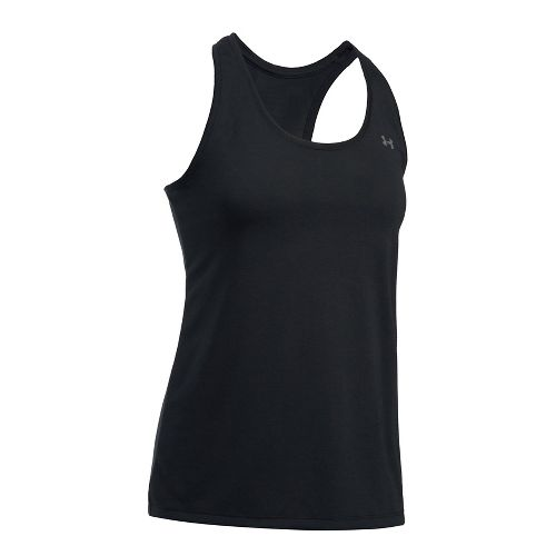 Womens Under Armour Threadborne Train Sleeveless & Tank Tops Technical Tops - Black L