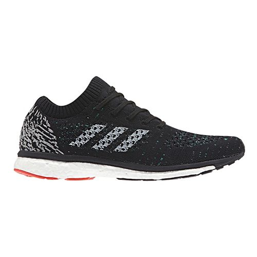 Mens adidas adizero Primeknit LTD Running Shoe - Black/Multi 10.5