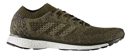 Mens adidas adizero Primeknit LTD Running Shoe - Olive/Black 8