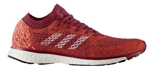 Mens adidas adizero Primeknit LTD Running Shoe - Burgundy/White 7.5
