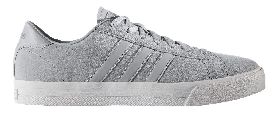 Mens adidas Cloudfoam Super Daily Casual Shoe - Grey Suede 10