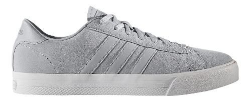 Mens adidas Cloudfoam Super Daily Casual Shoe - Grey Suede 10.5