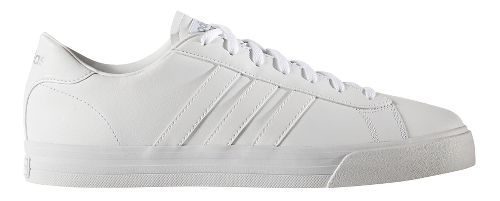Mens adidas Cloudfoam Super Daily Casual Shoe - White Leather 13