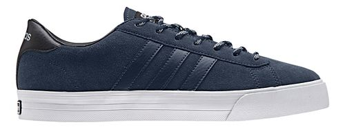 Mens adidas Cloudfoam Super Daily Casual Shoe - Navy Suede 9