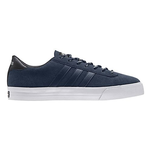 Mens adidas Cloudfoam Super Daily Casual Shoe - Navy Suede 11.5