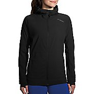 Womens Brooks Canopy Jacket Running Jackets - Black L