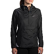 Womens Brooks Cascadia Shell Running Jackets - Black XS
