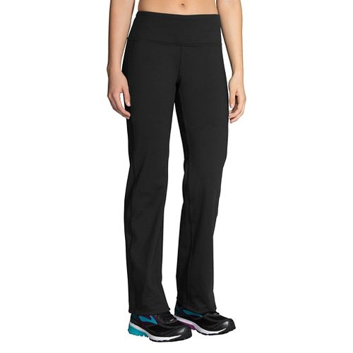 Womens Brooks Threshold Pants - Black XL