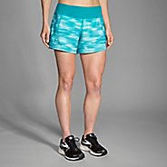"Womens Brooks Chaser 5"" Reflective Lined Shorts"