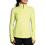 Womens Brooks Dash Printed Half-Zips & Hoodies Technical Tops