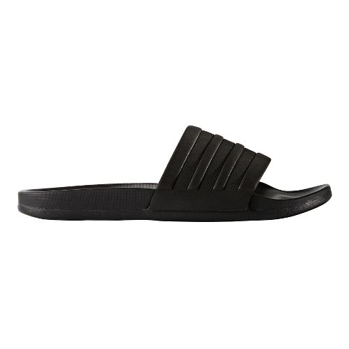 Mens adidas Adilette CF+ Mono Sandals Shoe - Core Black 11