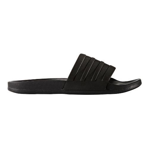 Mens adidas Adilette CF+ Mono Sandals Shoe - Core Black 8