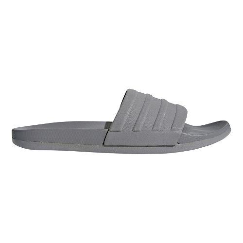 Mens adidas Adilette CF+ Mono Sandals Shoe - Grey/Grey/Grey 10