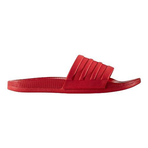 Mens adidas Adilette CF+ Mono Sandals Shoe - Scarlet 13