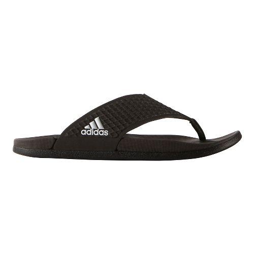 Mens adidas Adilette CF+ Y Sandals Shoe - Core Black 7