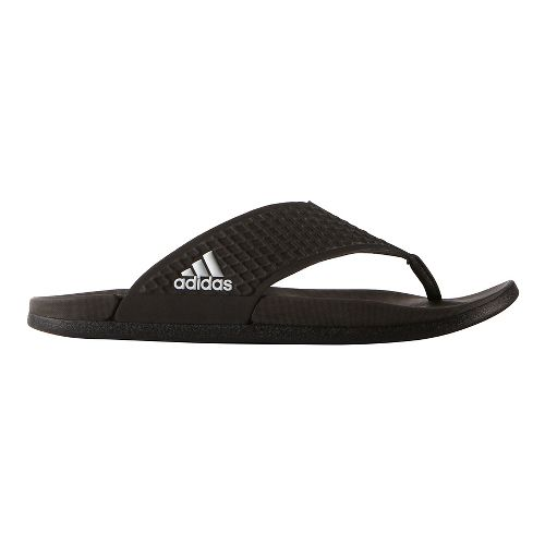 Mens adidas Adilette CF+ Y Sandals Shoe - Core Black 9