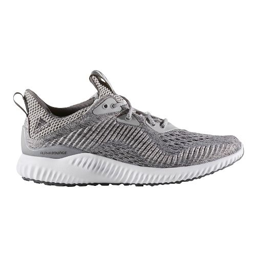 Womens adidas AlphaBounce EM Running Shoe - Grey/White 10