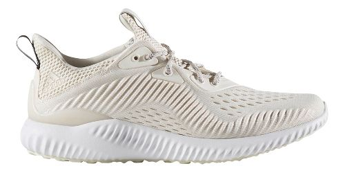 Womens adidas AlphaBounce EM Running Shoe - White/White Grey 9.5