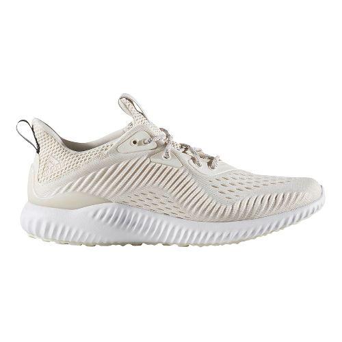 Womens adidas AlphaBounce EM Running Shoe - White/White Grey 6