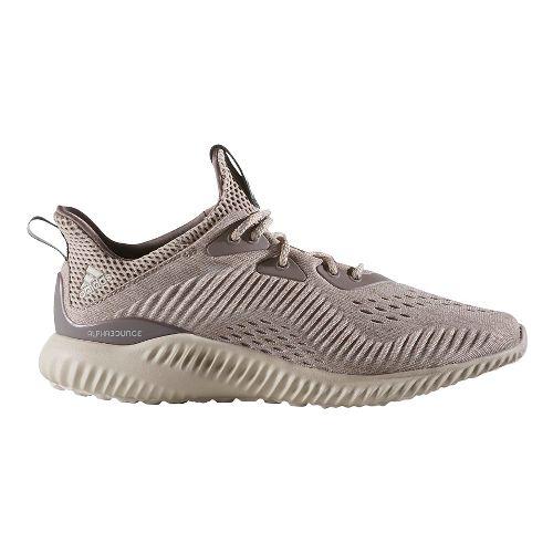 Womens adidas AlphaBounce EM Running Shoe - Earth/Light Brown 10