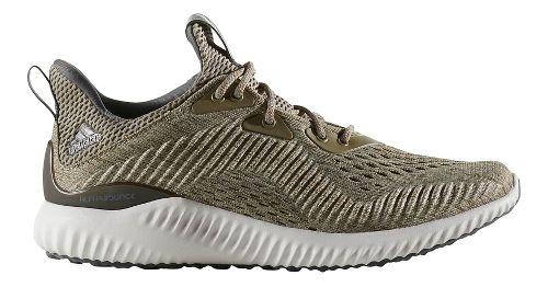 Womens adidas AlphaBounce EM Running Shoe - Olive 7