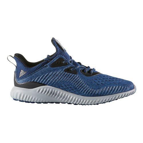 Womens adidas AlphaBounce EM Running Shoe - Navy/Black 7.5