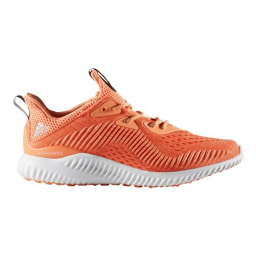 Womens adidas AlphaBounce EM Running Shoe - Easy Coral/Orange 8