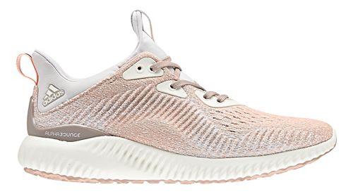 Womens adidas AlphaBounce EM Running Shoe - Ash Pearl 8