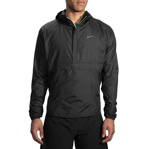 Mens Brooks Cascadia Shell Running Jackets - Black XS