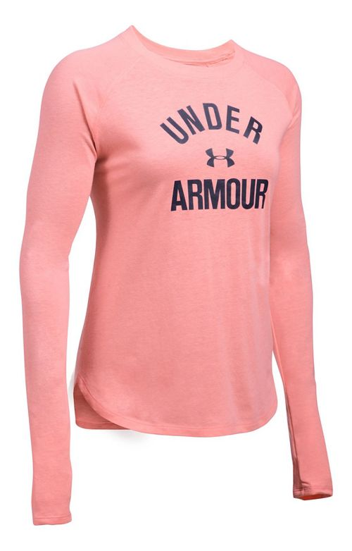 Womens Under Armour Tri-Blend Graphic Long Sleeve Technical Tops - Cape Coral S