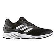 Mens adidas AeroBounce Running Shoe - Black/White 9