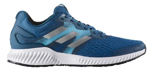 Mens adidas AeroBounce Running Shoe - Royal/Silver 8.5
