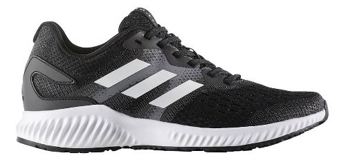 Womens adidas AeroBounce Running Shoe - Black/White 6.5